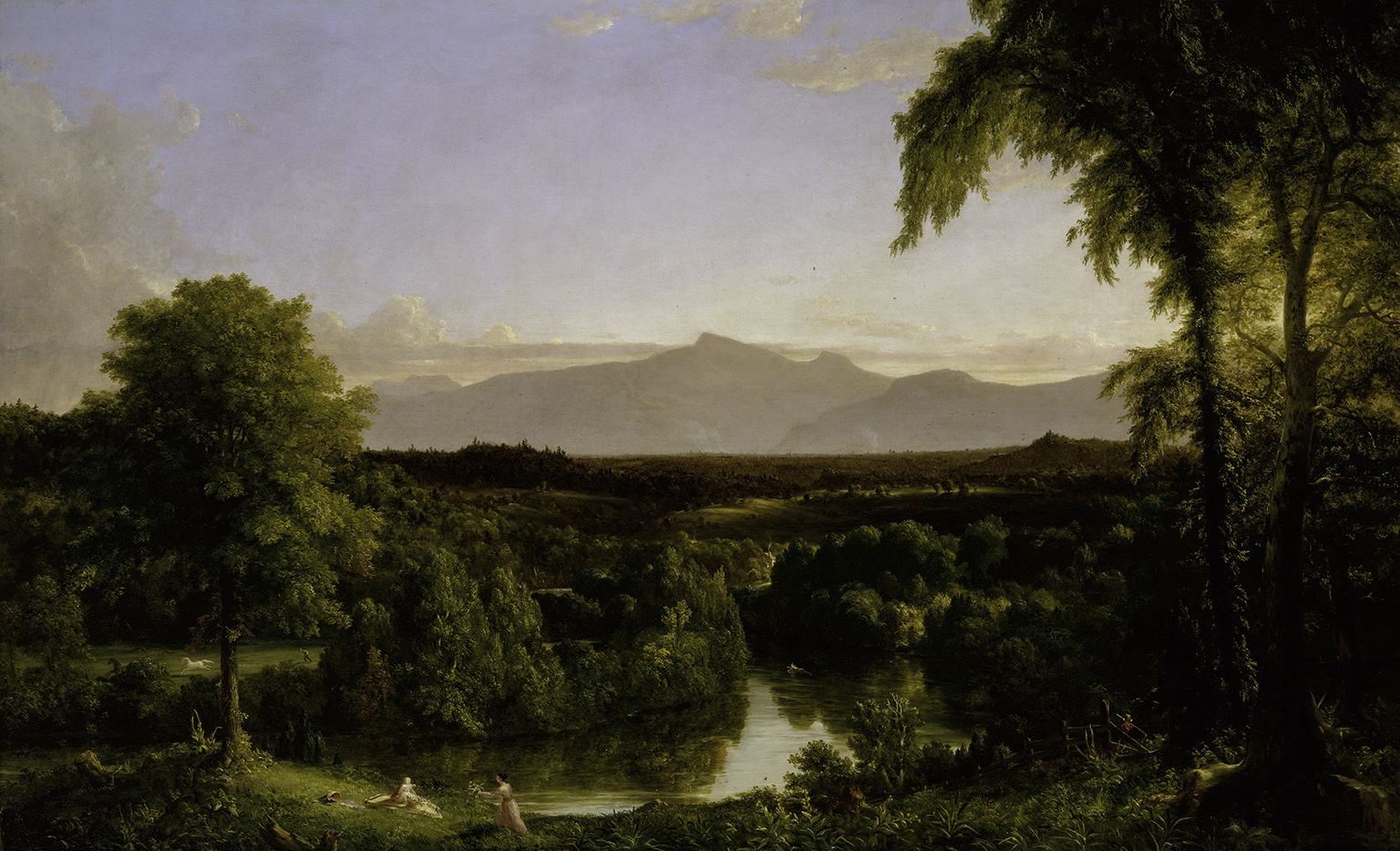 Thomas Cole, View on the Catskill - Early Autumn, 1836-37