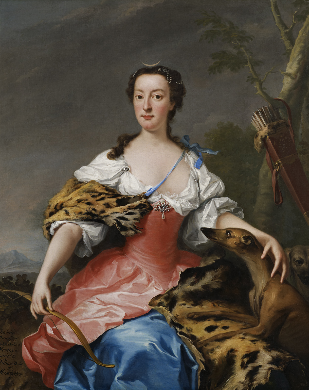 Andrea Soldi, Isabella Duchess of Manchester, 1738