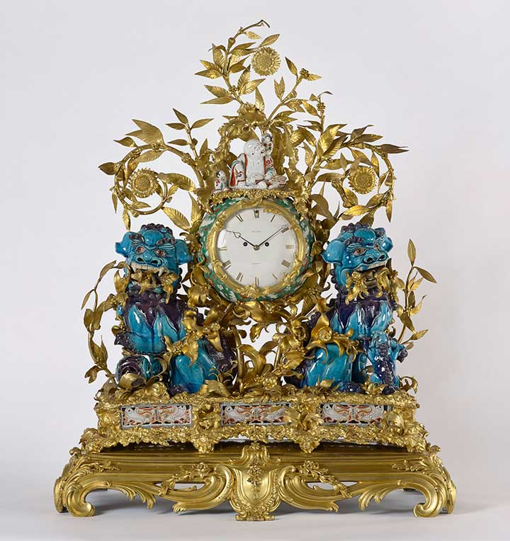 The Kylin clock, c1700–1822, Royal Collection Trust / © Her Majesty Queen Elizabeth II