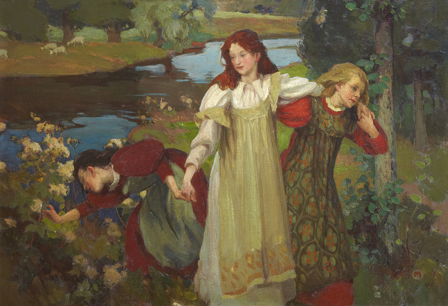 Charles H. Mackie, There were Three Maidens pu'd a Flower (By the Bonnie Banks o' Fordie), c.1897.