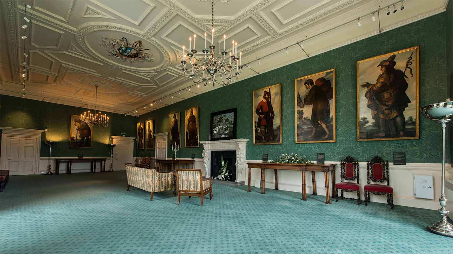 Auckland castle art fund for Dining room paintings