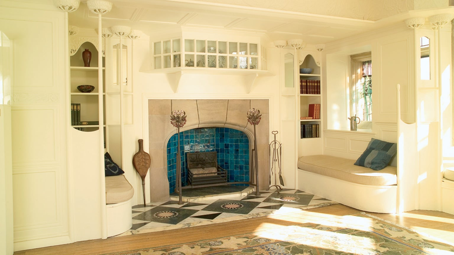 The White Drawing Room at Blackwell