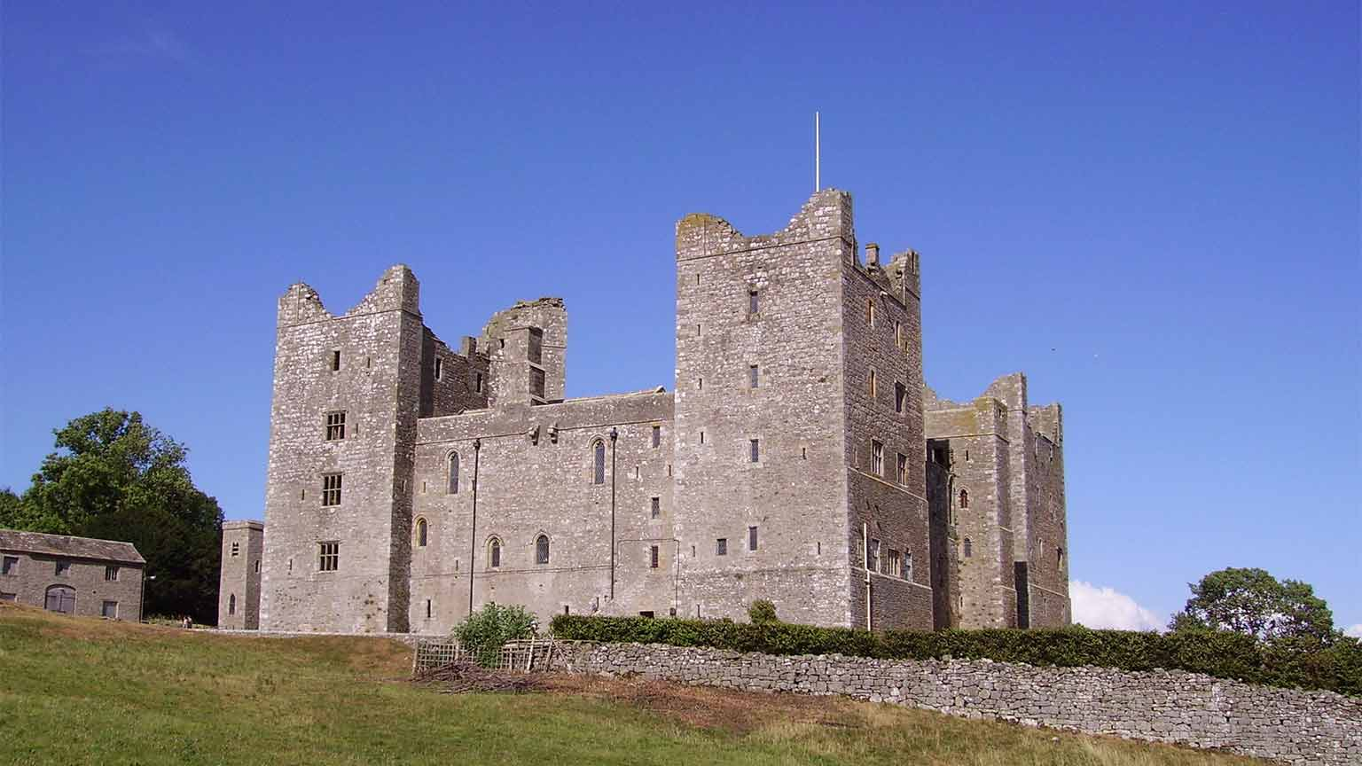 Bolton Castle. Reduced price entry with National Art Pass -