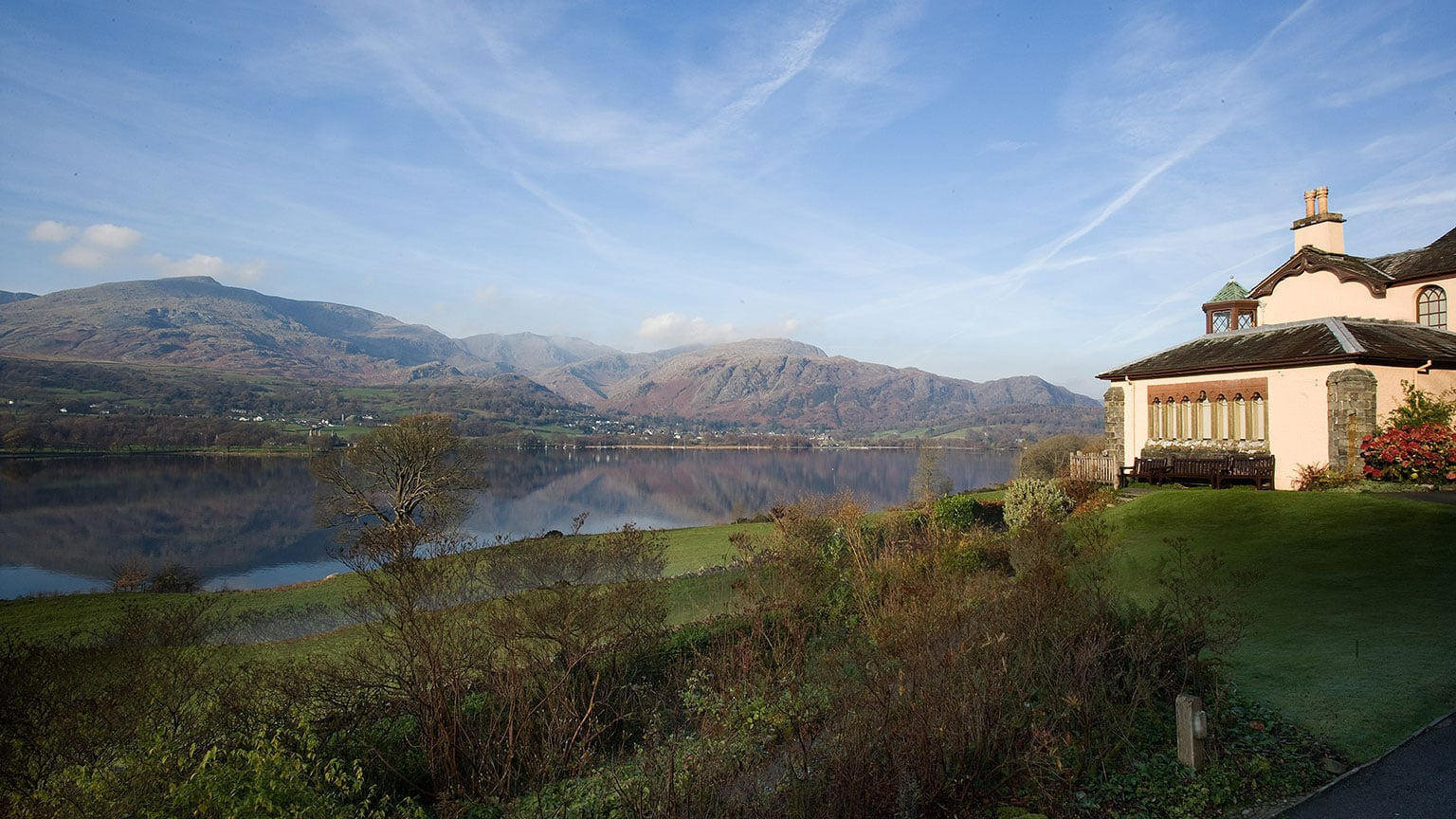 Brantwood House, Coniston. Free with National Art Pass -