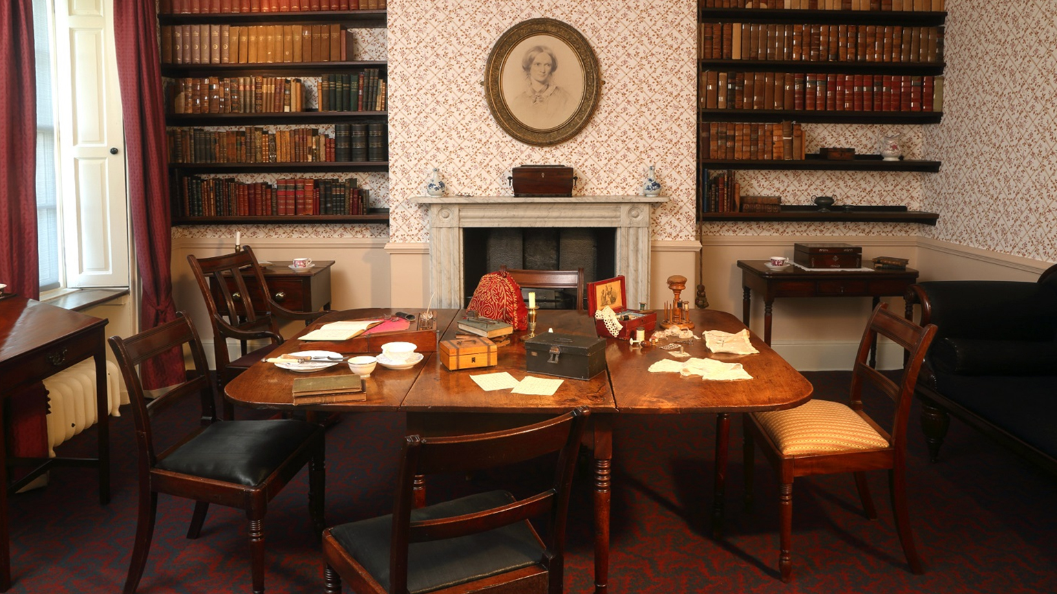 The table where the famous novels were written