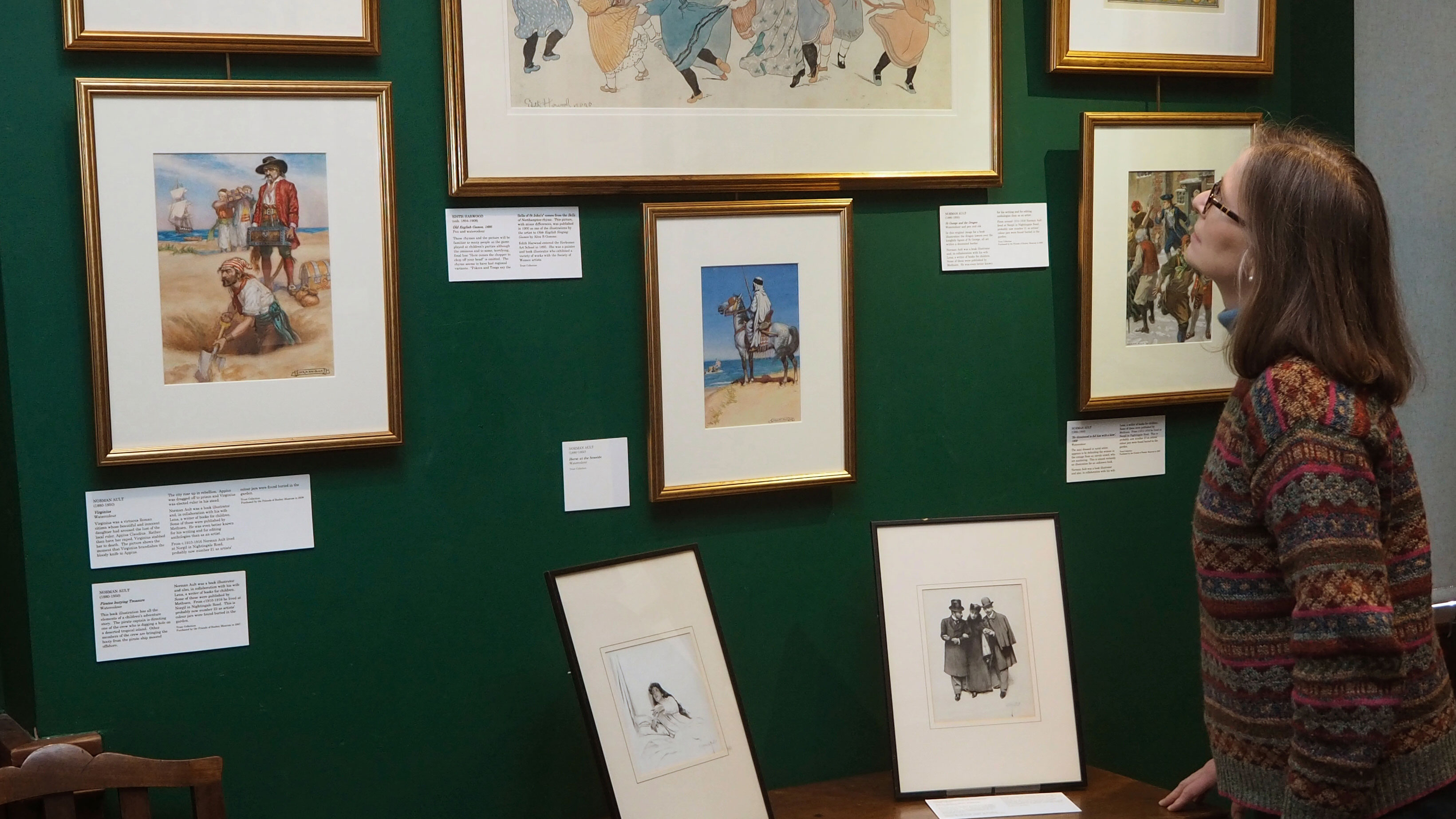 Book Illustration Exhibition at Bushey Museum and Art Gallery