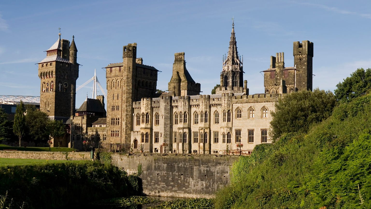 5. Cardiff Castle - Free entry with National Art Pass