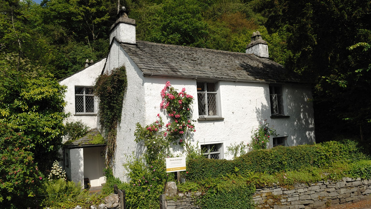2. Dove Cottage, free entry with National Art Pass -