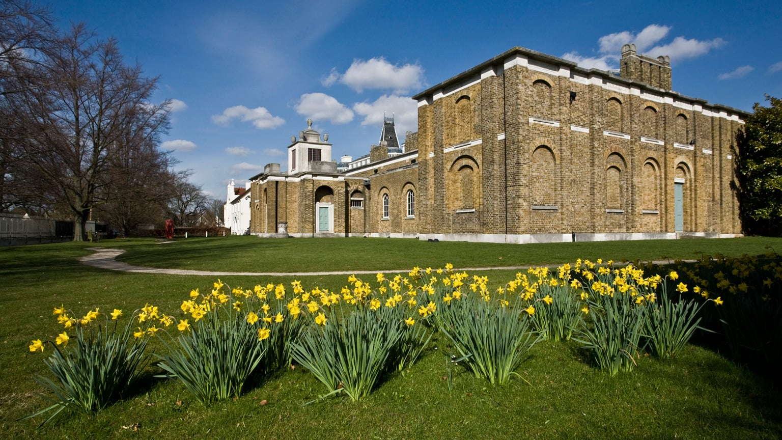 Dulwich Picture Gallery in the Spring