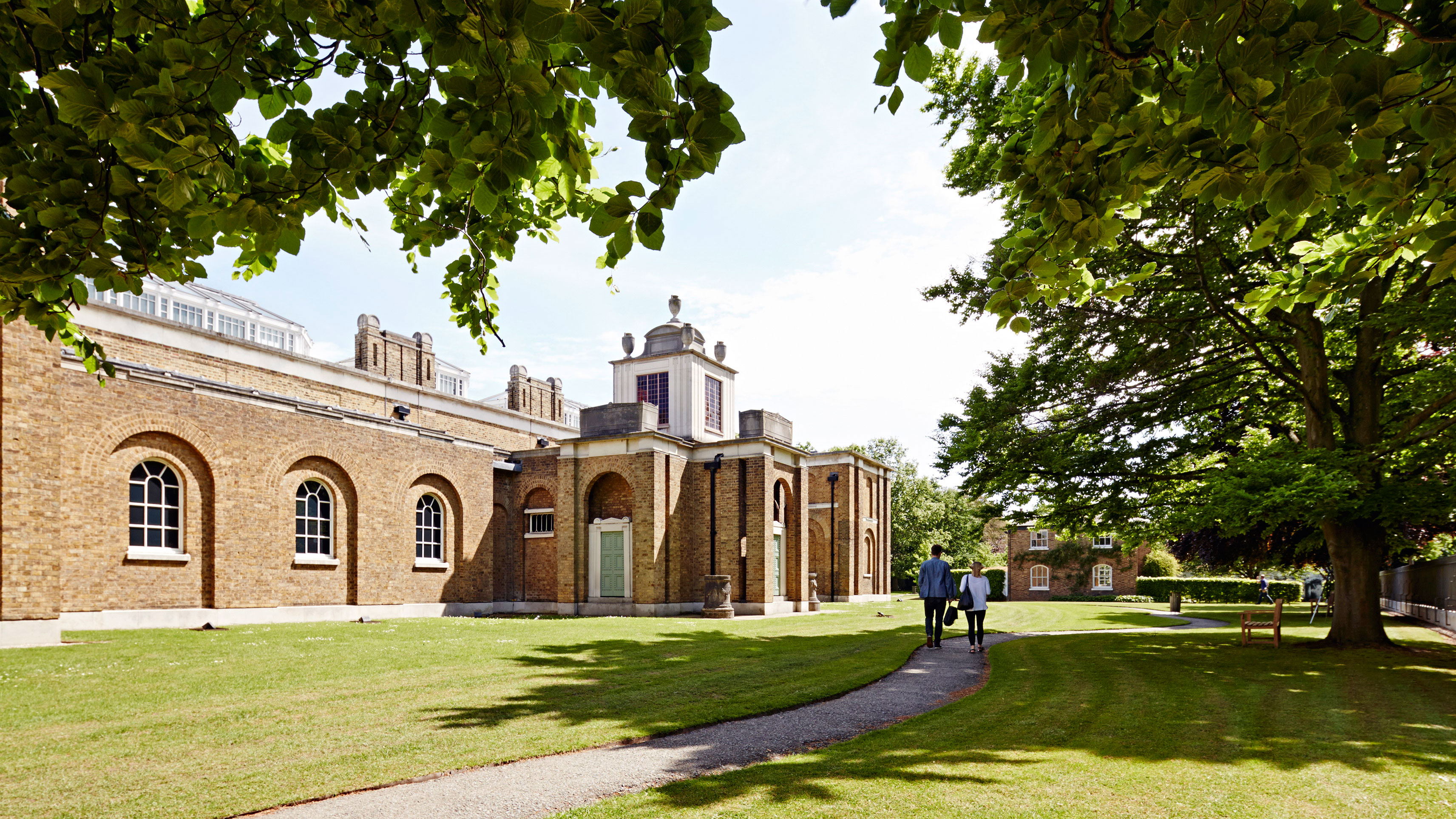 Dulwich Picture Gallery and grounds