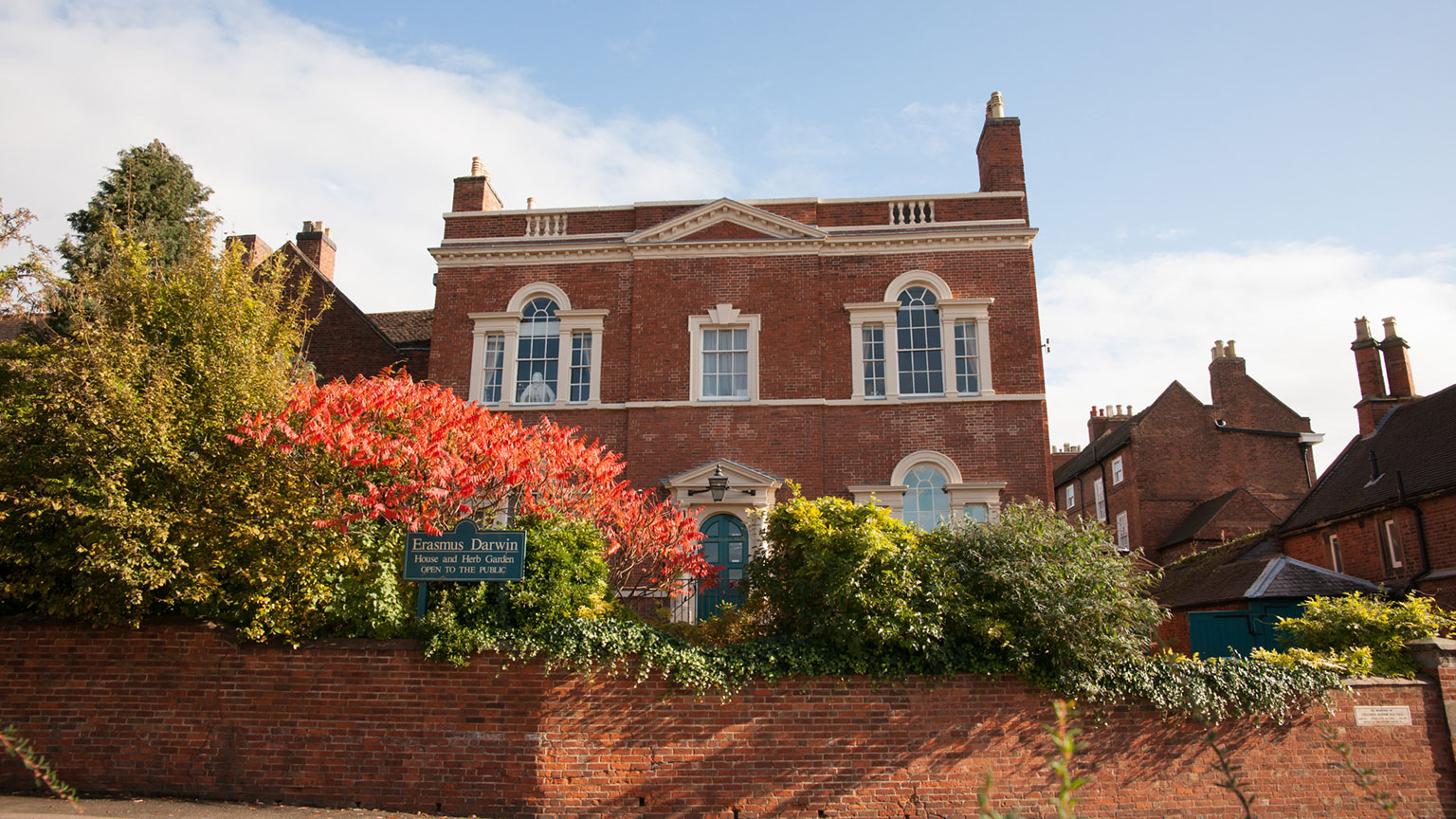 The home of Leading physician, scientist and inventor, Erasmus Darwin