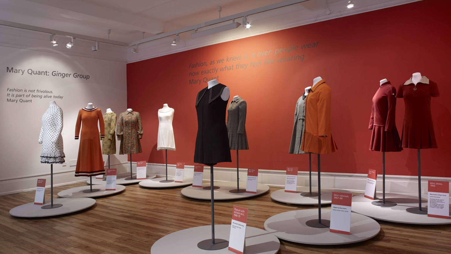 Mary Quant temporary exhibition