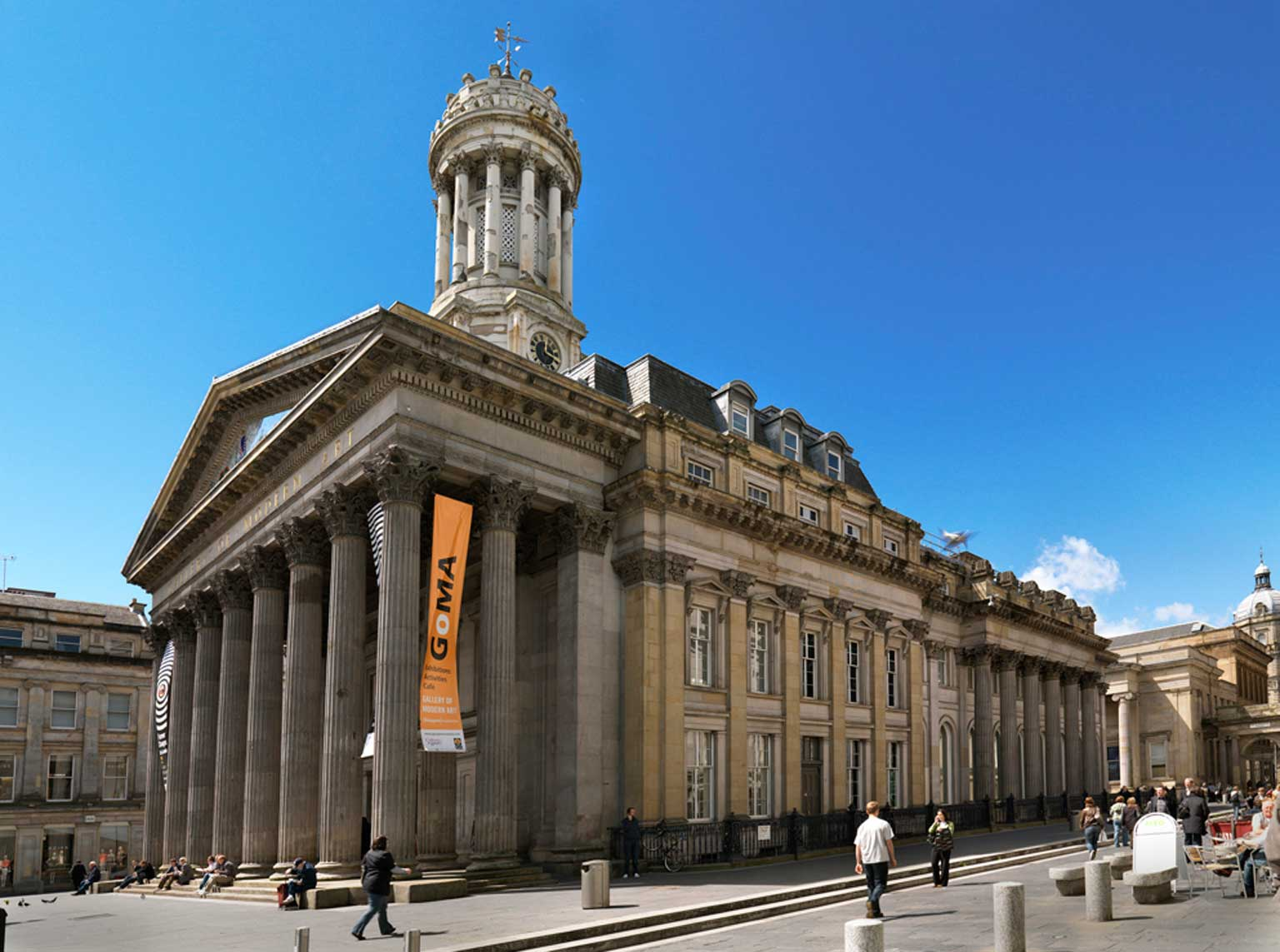 3. Gallery of Modern Art (GoMA), Glasgow - Free to all, 10% off shop purchases with National Art Pass