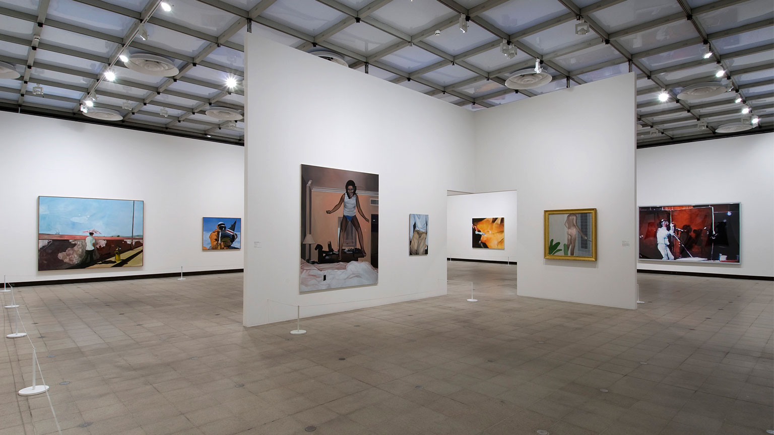Installation view of The Painting of Modern Life, 2007