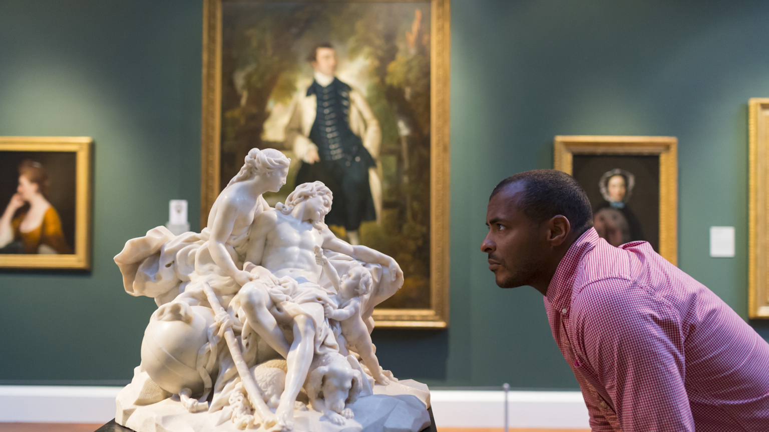 Sculpture in the Holburne Picture Gallery