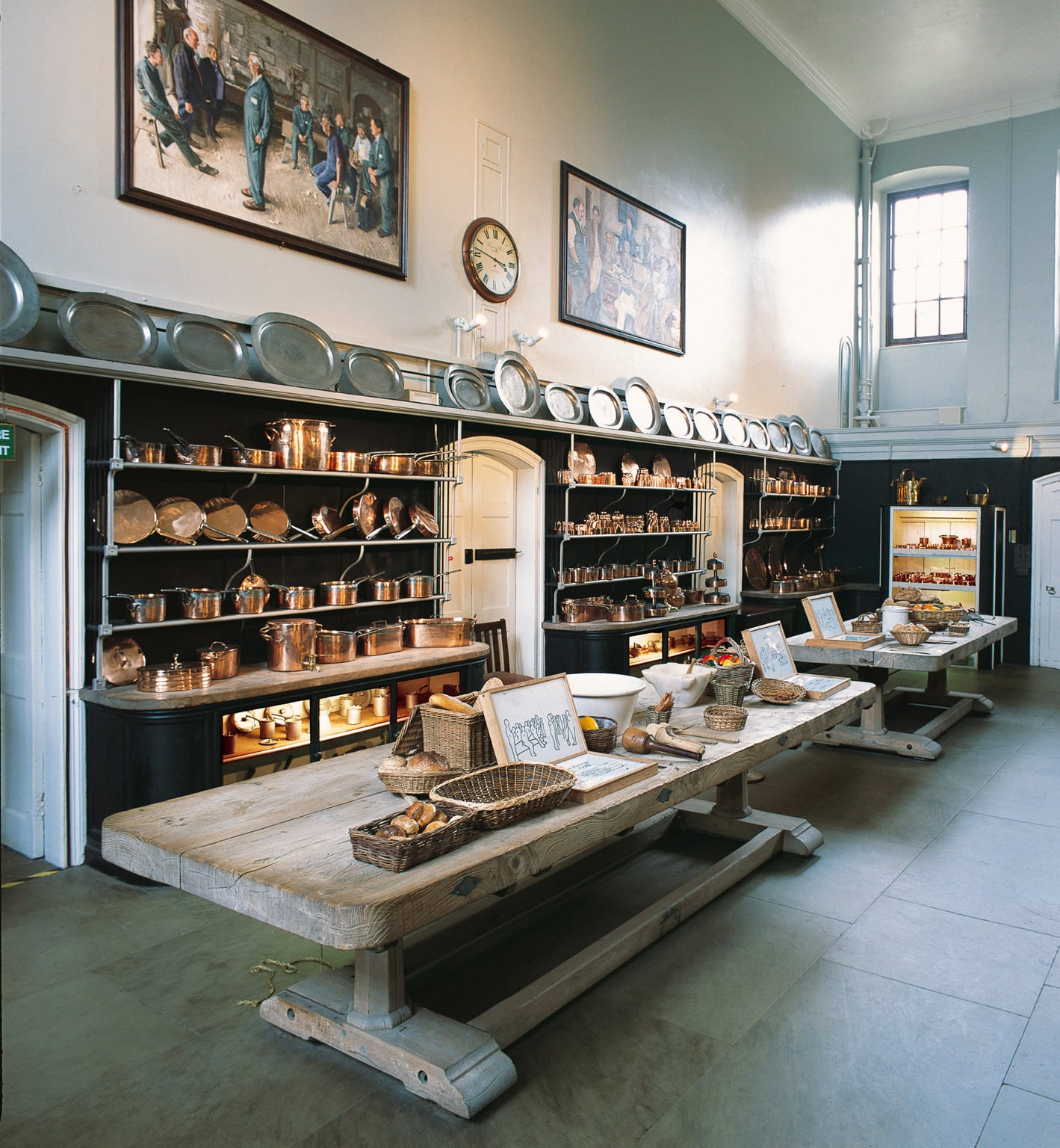 The Old Kitchen first came into use in 1757 and was used up until the Second World War