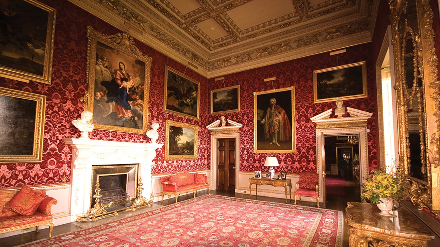 As well as Viscount Coke and his family, two other families live here throughout the year