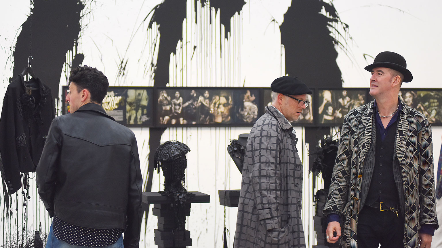 Judy Blame: Never Again opening
