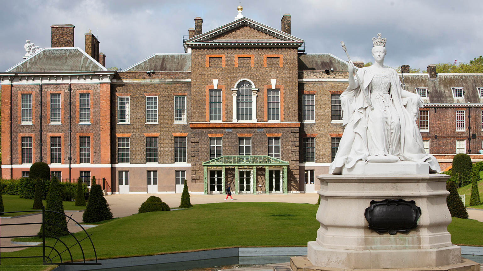 Charming Exterior Of Kensington Palace