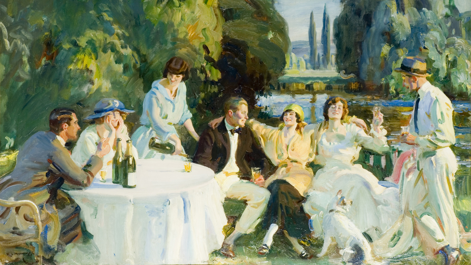 Tagg's Island (1919) by Sir Alfred Munnings