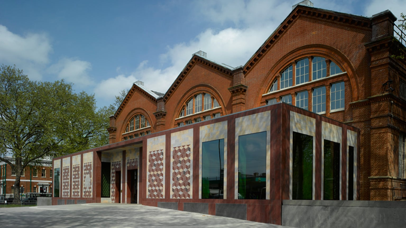 Front Entrance of the Museum of Childhood, by Architects Caruso St John