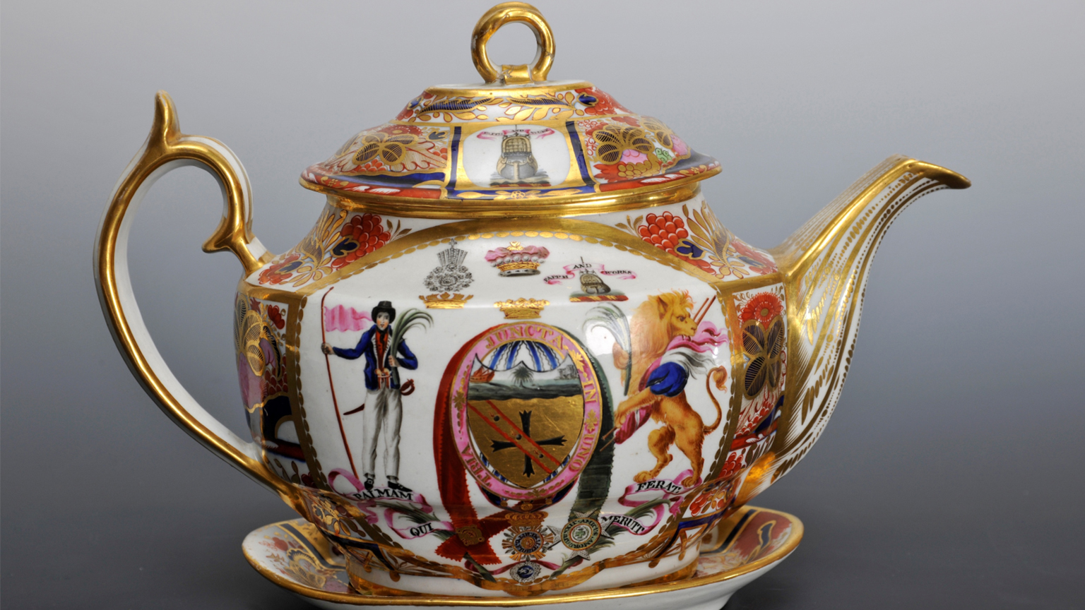 Lord Nelson Teapot, 1802.