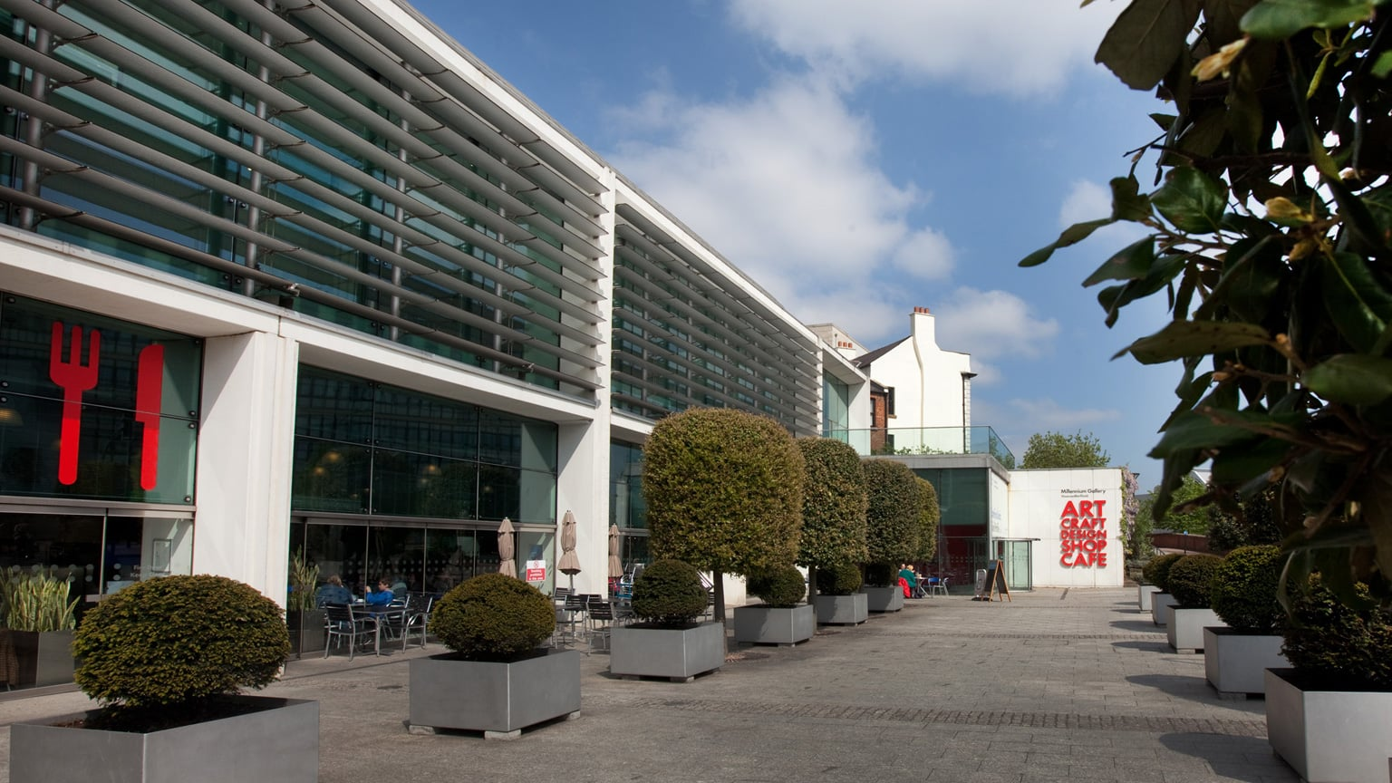 Museums Sheffield: Millenium Gallery. Free to all, 10% off shop purchases with National Art Pass -