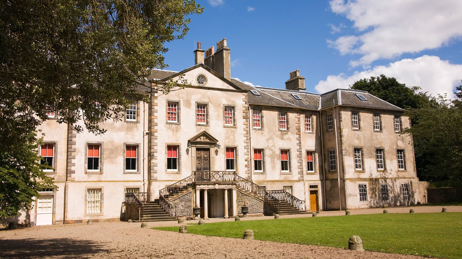 The house at Newhailes