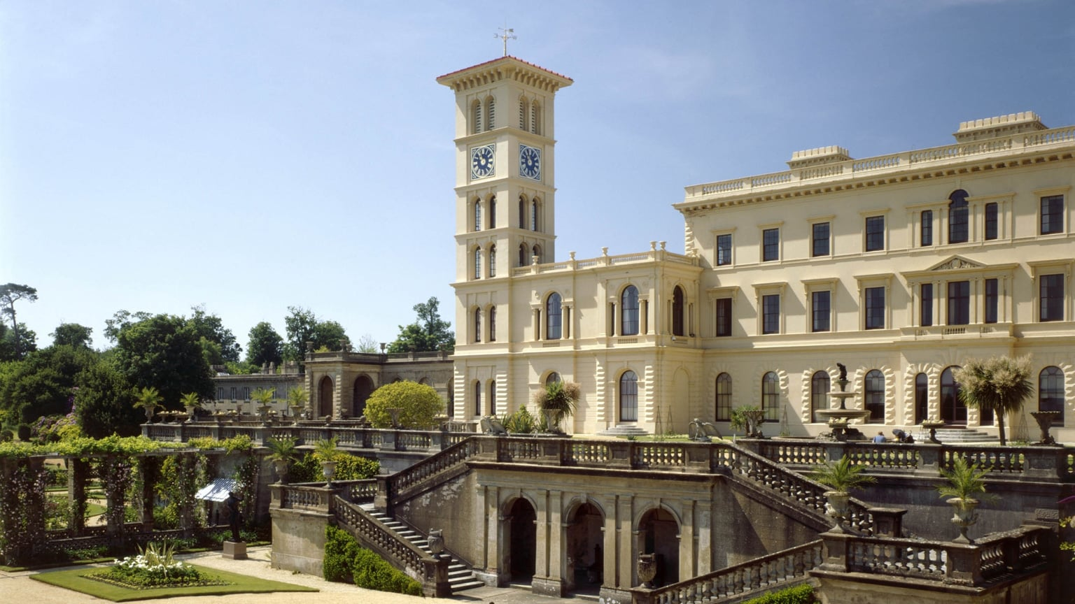 Osborne House, Isle of Wight. Free with National Art Pass -