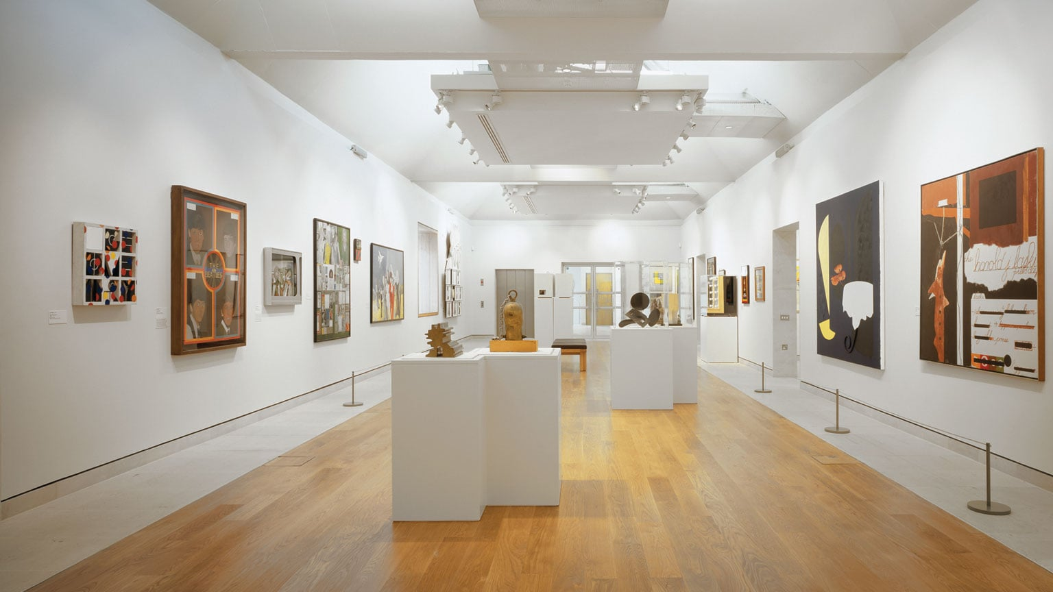 Temporary exhibition space at the Gallery