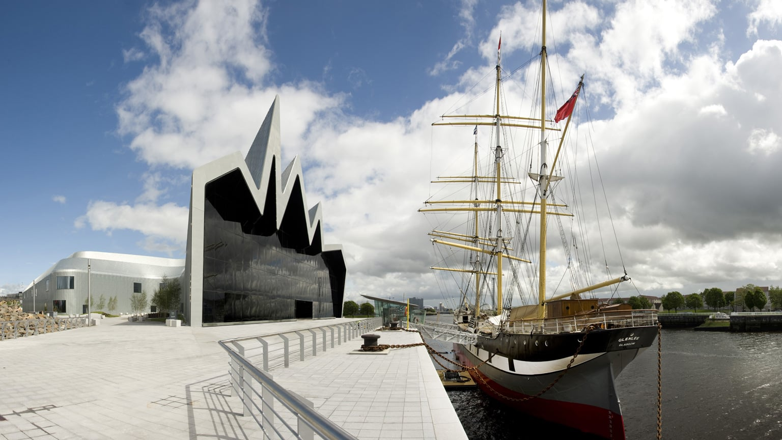 Riverside Museum and Glenlee Tall Ship -