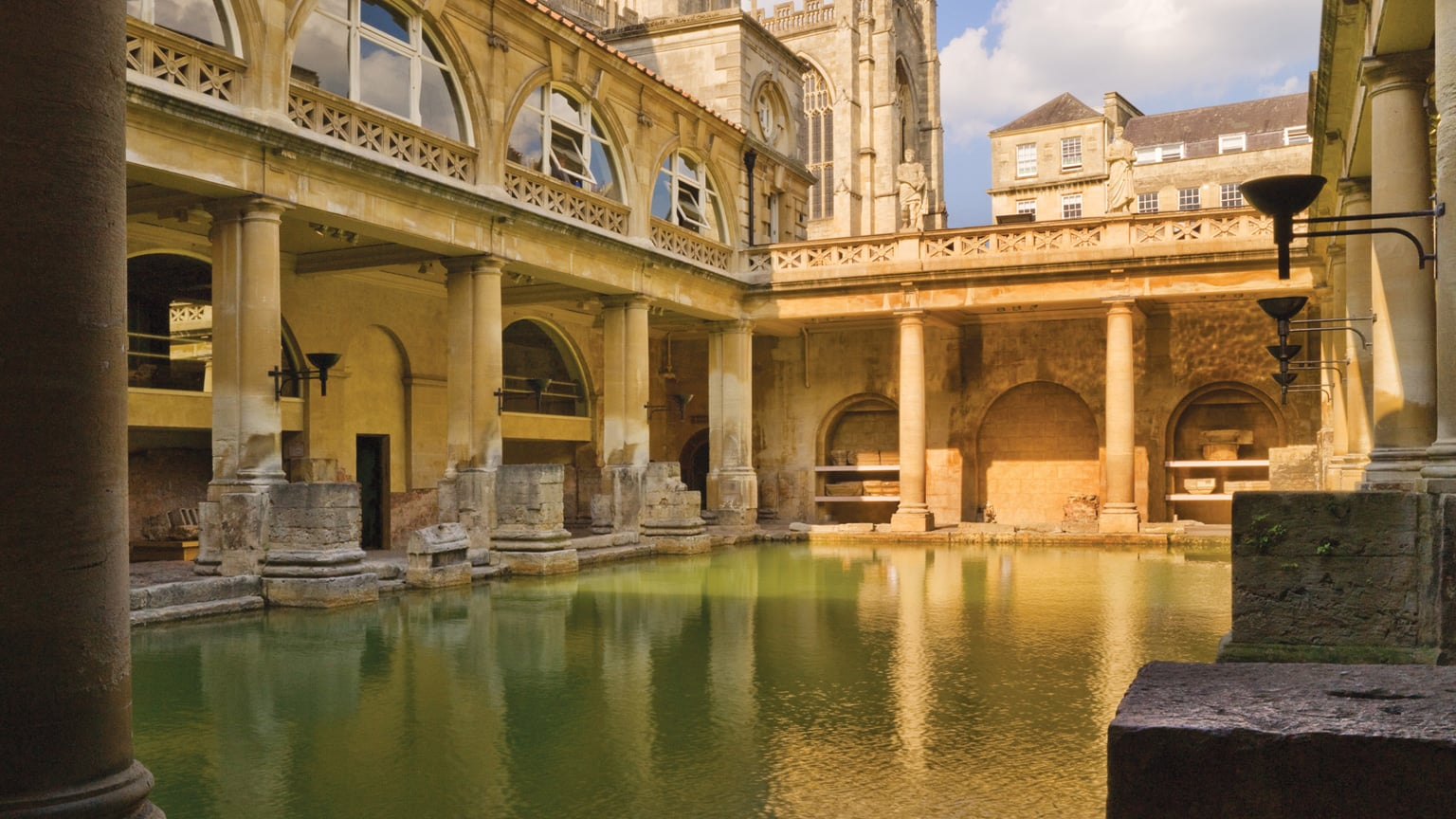 2. Roman Baths in Somerset - Reduced price entry with National Art Pass