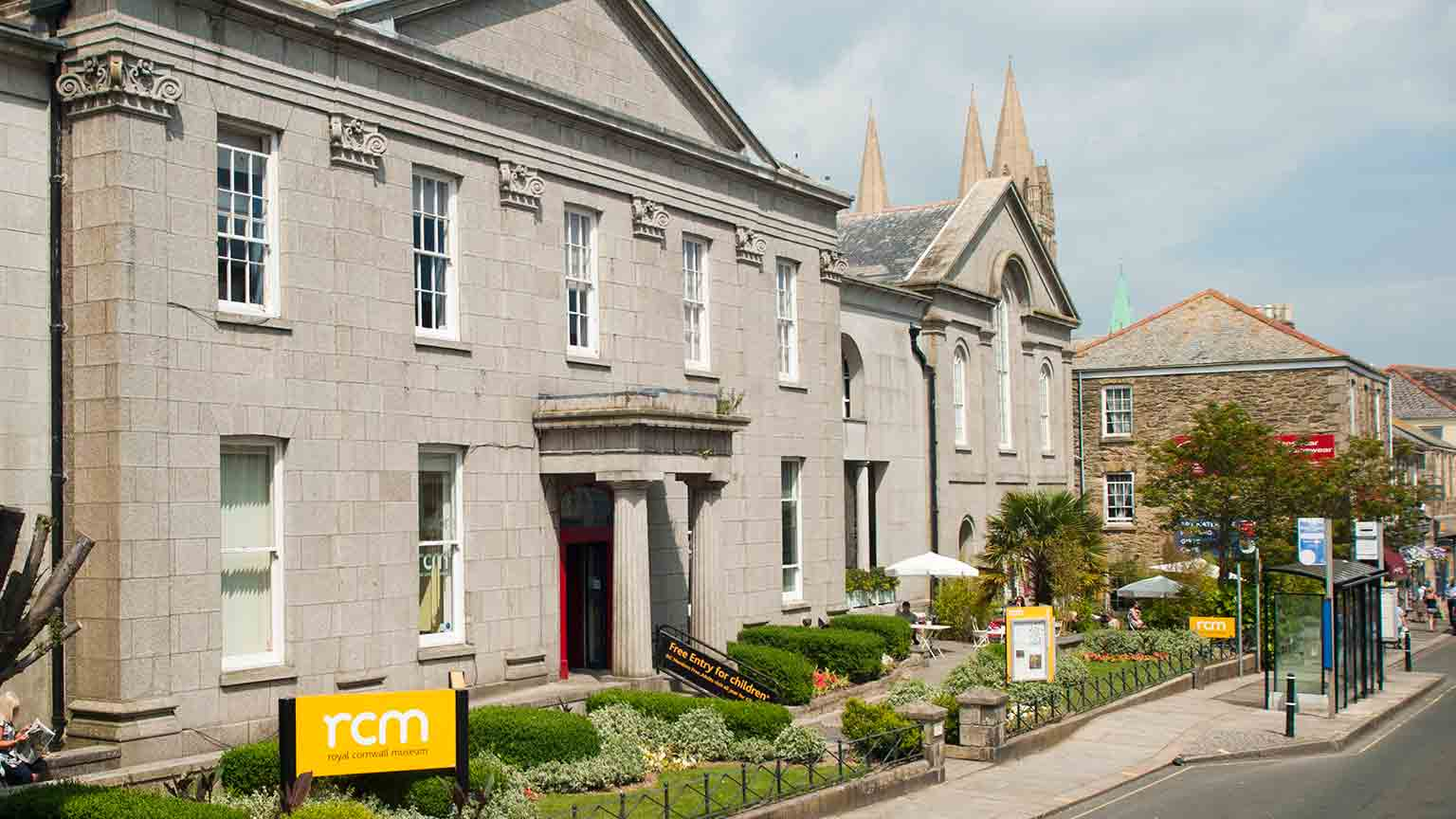 The Royal Cornwall Museum