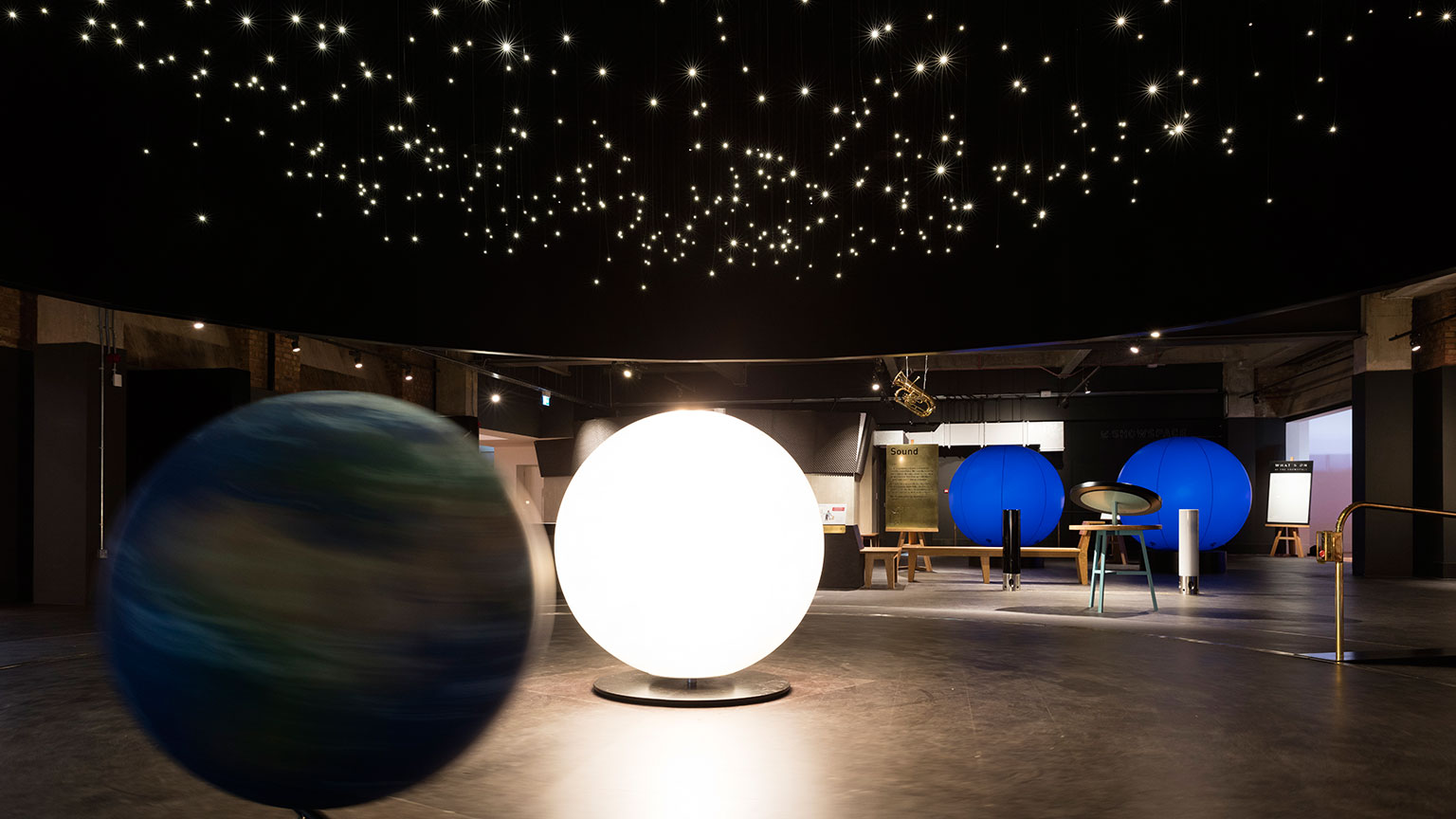 The orrery in Wonderlab: The Statoil Gallery