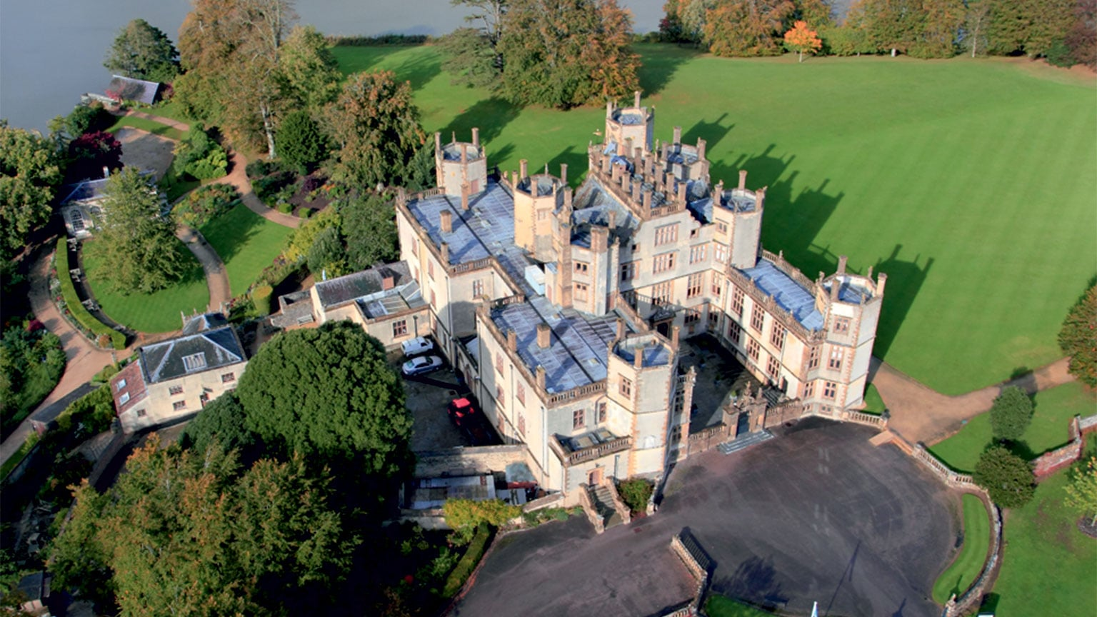 Sherborne Castle; Sir Walter Raleigh's home -