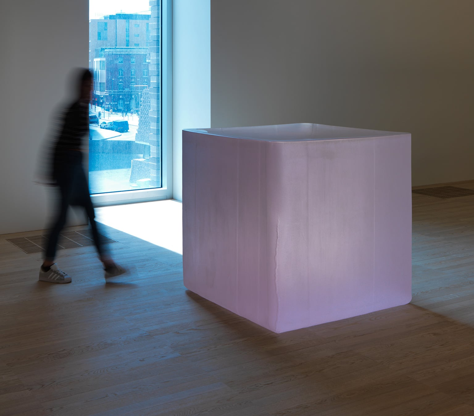 Roni Horn, Pink Tons, 2009