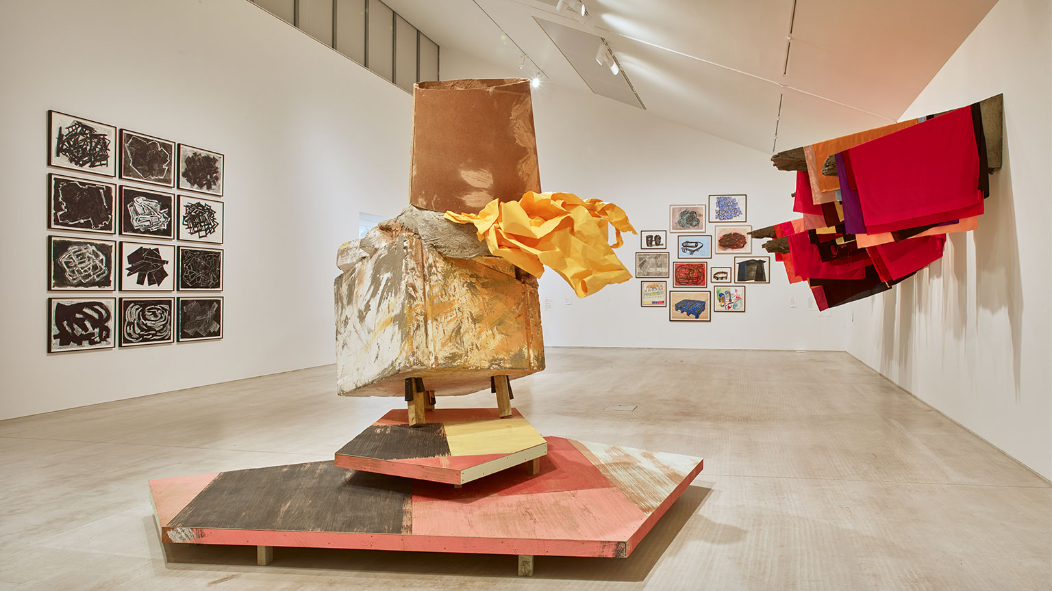 ARTIST ROOMS Phyllida Barlow, installation view, Every Day is a New Day.
