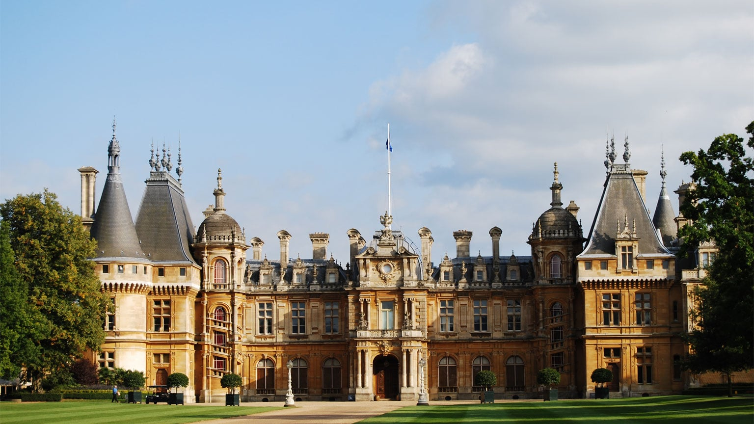 1. Waddesdon Manor in Buckinghamshire - Free entry with National Art Pass