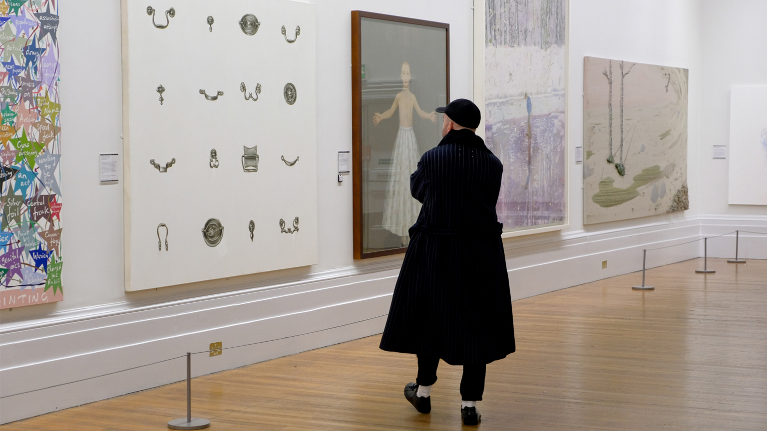Contemporary works on show at the Walker Art Gallery, Liverpool