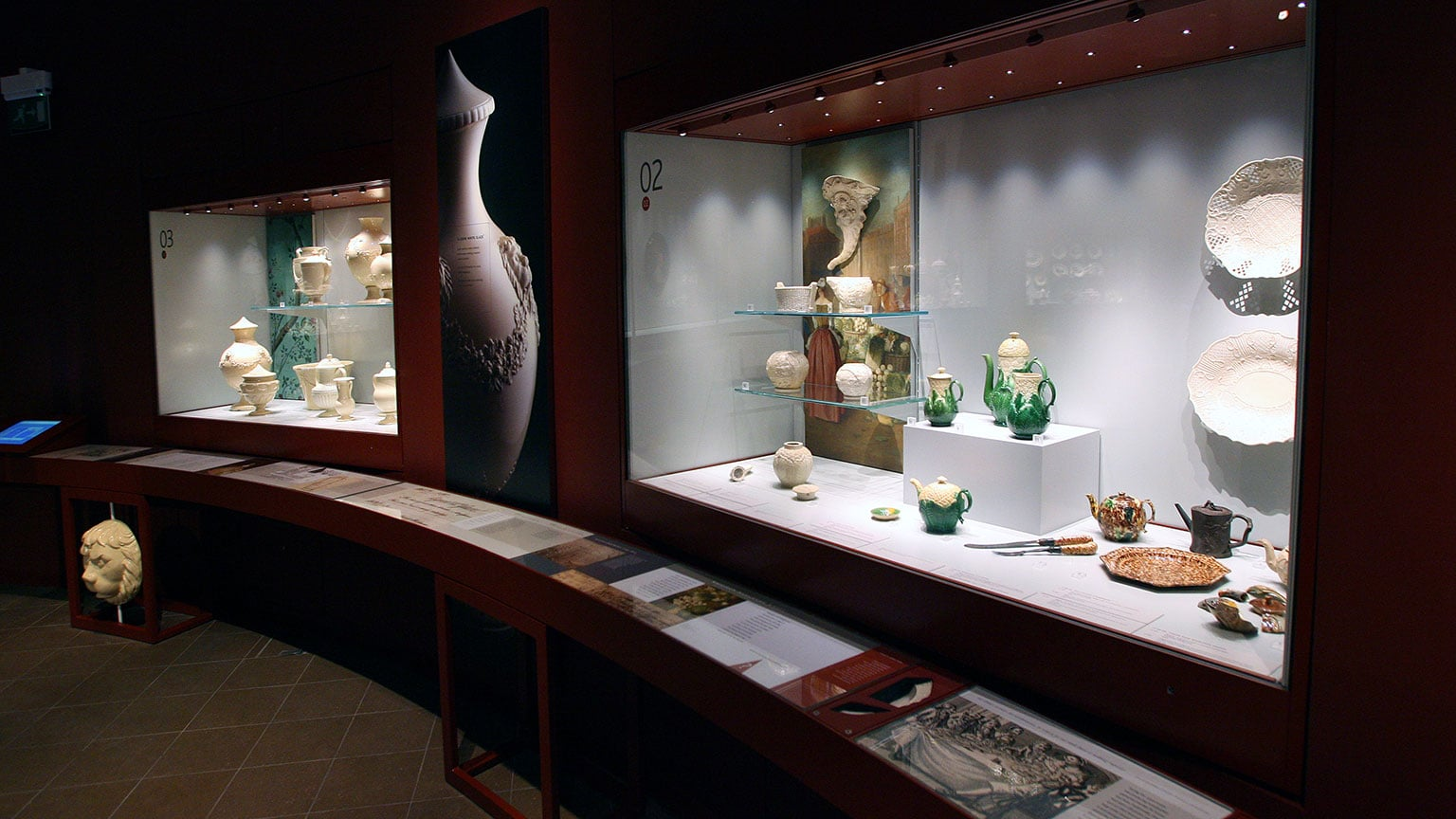 On display are many of the highlights of the collection