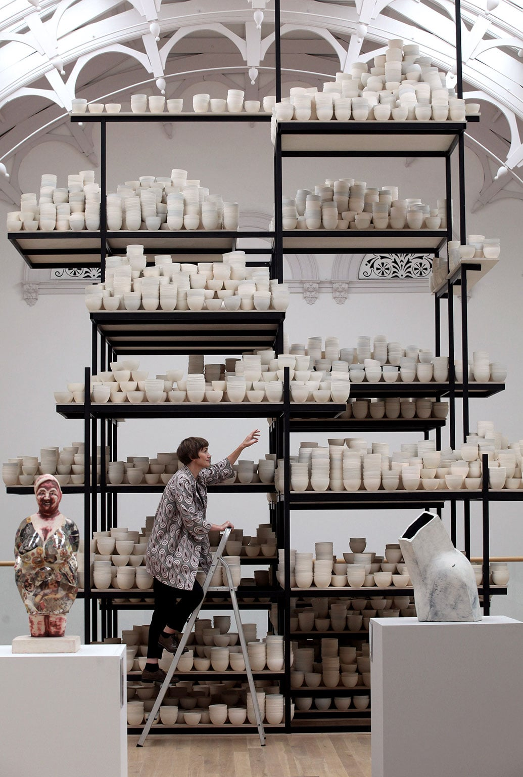 2. York Art Gallery, free with a National Art Pass - Clare Twomey, Manifest: 10,000 hours, 2015 © The artist