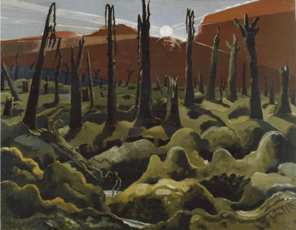 Paul Nash, We are Making a New World, 1918 - © IWM