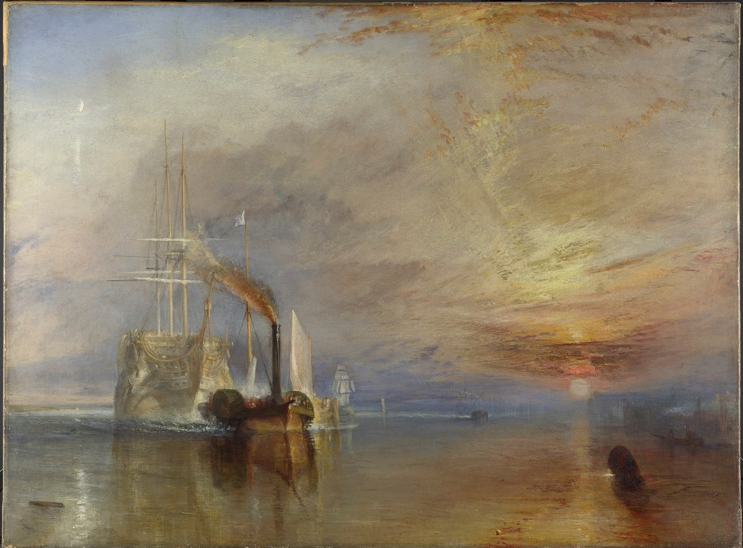 JMW Turner, The Fighting Temeraire, 1839 - © National Gallery