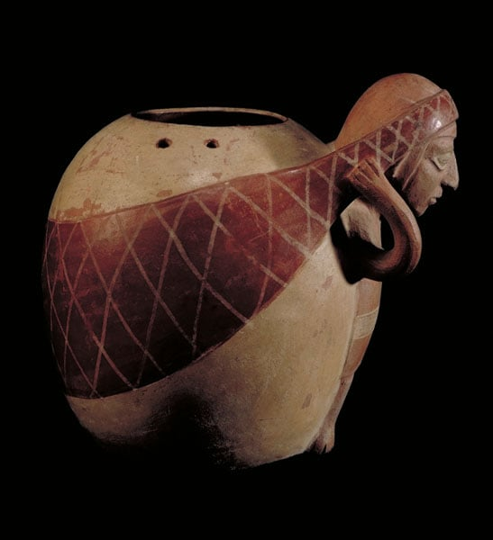 Collection of 250 pieces of Peruvian Pottery