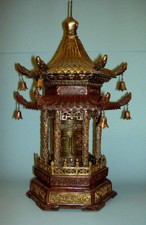 4 Lamaistic objects from Lhasa