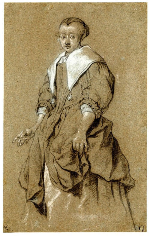 Portait of a Lady Standing