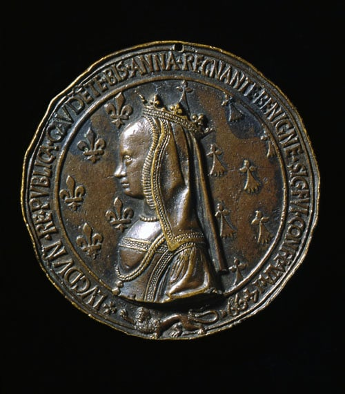 Medal for Louis XII and Anne of Brittany