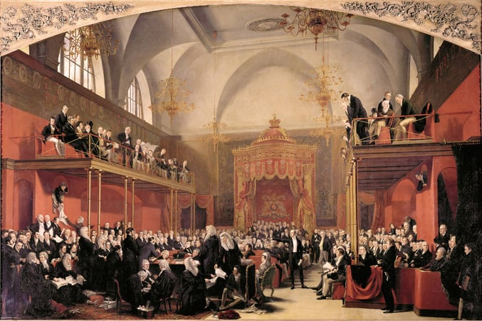 The Trial of Queen Caroline in the House of Lords