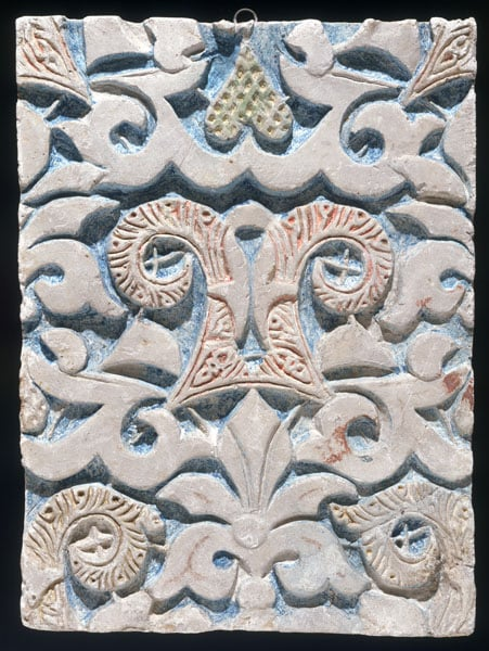 Stucco panels from the Alhambra