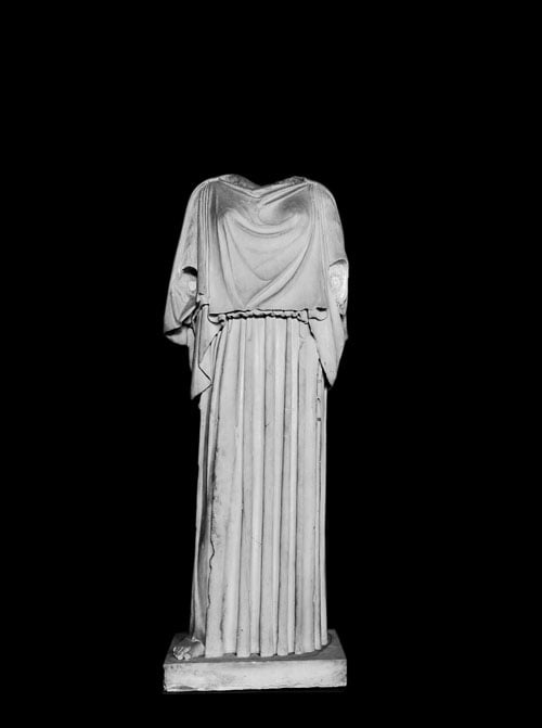 Statue of an Athenian lady